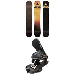 Arbor Bryan Iguchi Pro Rocker Snowboard + Arbor Cypress Snowboard Bindings 2020