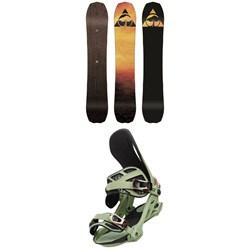 Arbor Bryan Iguchi Pro Rocker Snowboard + Arbor Cypress Snowboard Bindings