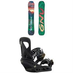 GNU B-Pro C3 Snowboard - Women's  + Burton Lexa Snowboard Bindings - Women's 2018