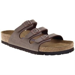 Birkenstock Florida Birkibuc Soft Footbed Sandals - Women's