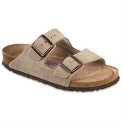 Birkenstock Arizona Suede Soft Footbed Sandals - Women's