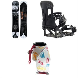 Burton Flight Attendant Splitboard 2020 ​+ Hitchhiker Splitboard Bindings ​+ Burton x G3 High Traction Splitboard Climbing Skins