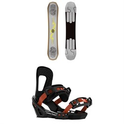 Bataleon Evil Twin Snowboard ​+ Switchback Smith Snowboard Bindings