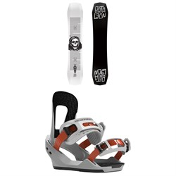 Bataleon Disaster Snowboard ​+ Switchback Destroyer Snowboard Bindings 2020