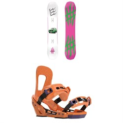 Lobster The Stomper Snowboard + Switchback Smith Snowboard Bindings 2020