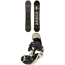 Arbor Foundation Snowboard ​+ Spruce Snowboard Bindings 2021