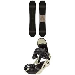 Arbor Formula Rocker Snowboard + Arbor Spruce Snowboard Bindings