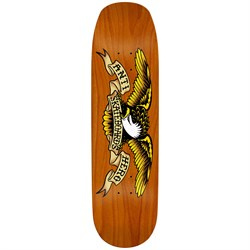 Anti Hero Shaped Eagle Overspray Orange Crusher 9.1 Skateboard Deck