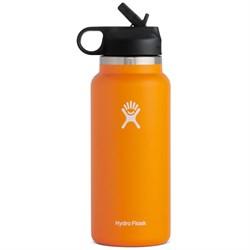 Hydro Flask 32oz Wide Mouth Straw Lid Water Bottle