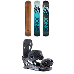 Jones Flagship Snowboard ​+ Jones Mercury Snowboard Bindings 2020
