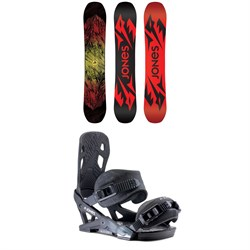 Jones Mountain Twin Snowboard ​+ Jones Mercury Snowboard Bindings 2020