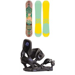 Yes. Emoticon Snowboard - Women's ​+ Now Vetta Snowboard Bindings - Women's 2020