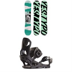 Yes. Typo Snowboard ​+ Now IPO Snowboard Bindings 2020