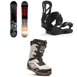 CAPiTA Outerspace Living Snowboard ​+ Union Flite Pro Snowboard Bindings ​+ thirtytwo Light JP Snowboard Boots 2020