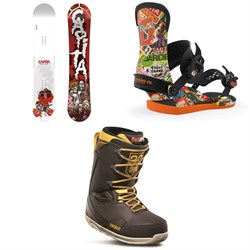 CAPiTA Scott Stevens Pro Snowboard ​+ Union Contact Pro Scott Stevens Snowboard Bindings ​+ thirtytwo TM-Two Stevens Snowboard Boots 2020