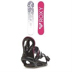Roxy Glow Snowboard + Wahine Snowboard Bindings - Women's 2021