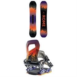 Rome Heist Snowboard - Women's + Rome Guild Snowboard Bindings - Women's 2020