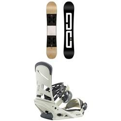 DC Mega Snowboard + Burton Mission Snowboard Bindings 2019