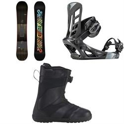 K2 Subculture Snowboard 2018 + K2 Indy Snowboard Bindings  + K2 Raider Snowboard Boots