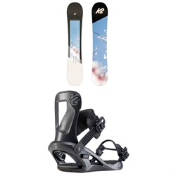 K2 Bright Lite Snowboard - Women's ​+ K2 Bedford Snowboard Bindings - Women's 2020