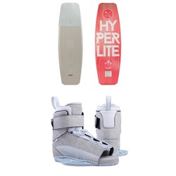 Hyperlite Scandal Wakeboard - Women's 2019 ​+ Hyperlite Viva Wakeboard Bindings - Women's 2019