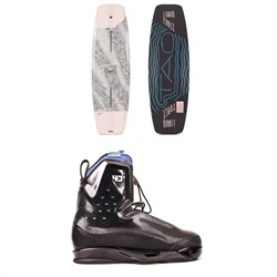 Liquid Force Tao Wakeboard ​+ Riot 4D Wakeboard Bindings