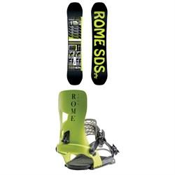 Rome Mechanic Snowboard + Rome Crux Snowboard Bindings 2020