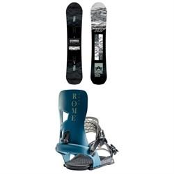 Rome Warden Snowboard + Rome Crux Snowboard Bindings 2020