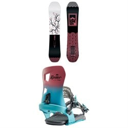 Rome Royal Snowboard - Women's + Rome Flare Snowboard Bindings - Women's 2020