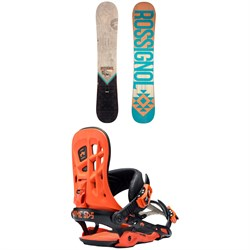 Rossignol Templar Snowboard  + Rome 390 Boss Snowboard Bindings 2018