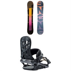 Rossignol ONE LF Snowboard 2019 + Rome 390 Boss Snowboard Bindings 2018