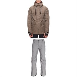 686 Cult Insulated Jacket + Raw Insulated Pants