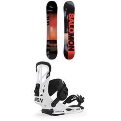 Salomon Pulse Snowboard + Union Flite Pro Snowboard Bindings 2020