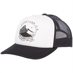 elSage Designs Adventure Is A Family Value Trucker Hat
