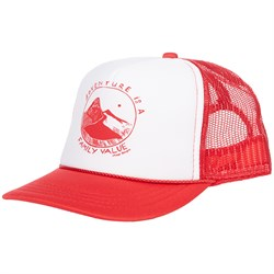 elSage Designs Adventure Is A Family Value Trucker Hat - Little Kids'