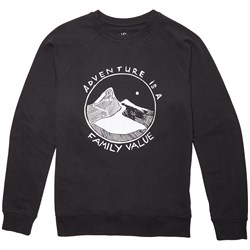 elSage Designs Adventure French Terry Crewneck Sweatshirt