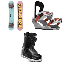 Bataleon Blow Snowboard + Switchback Destroyer Snowboard Bindings + thirtytwo STW Boa Snowboard Boots 2020