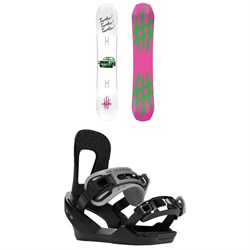 Lobster The Stomper Snowboard ​+ Switchback Destroyer Snowboard Bindings 2020