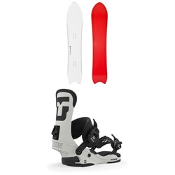 Korua Shapes Pencil Snowboard ​+ Union Force Snowboard Bindings 2020