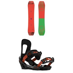 Bataleon Wallie Snowboard ​+ Switchback Smith Snowboard Bindings