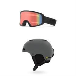Giro Blok Goggles + Giro Ledge FS MIPS Helmet