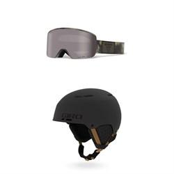 Giro Axis Goggles + Giro Emerge MIPS Helmet