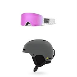 Giro Ella Goggles - Women's + Giro Ledge FS MIPS Helmet