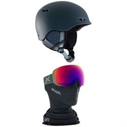 Anon Rodan Helmet + Anon M2 MFI Goggles