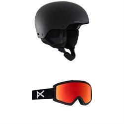 Anon Raider 3 Helmet + Anon Helix 2.0 Sonar Goggles