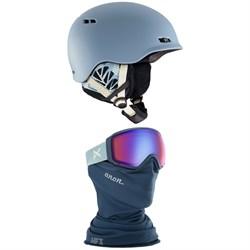 Anon Griffon Helmet - Women's + Anon WM1 MFI Goggles - Women's
