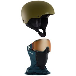 Anon Raider 3 Helmet + Anon M4 Toric MFI Goggles