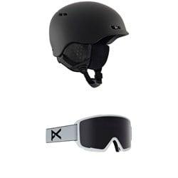 Anon Rodan Helmet + Anon M3 Goggles