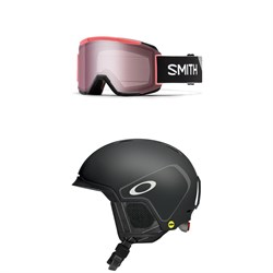 Smith Squad Goggles ​+ Oakley MOD 3 MIPS Helmet