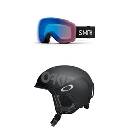 Smith Skyline Goggles + Oakley Mod 3 Helmet
